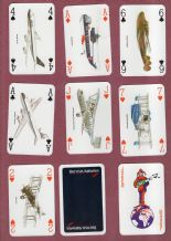 Collectible Advertising Air line  Playing cards  British Airways